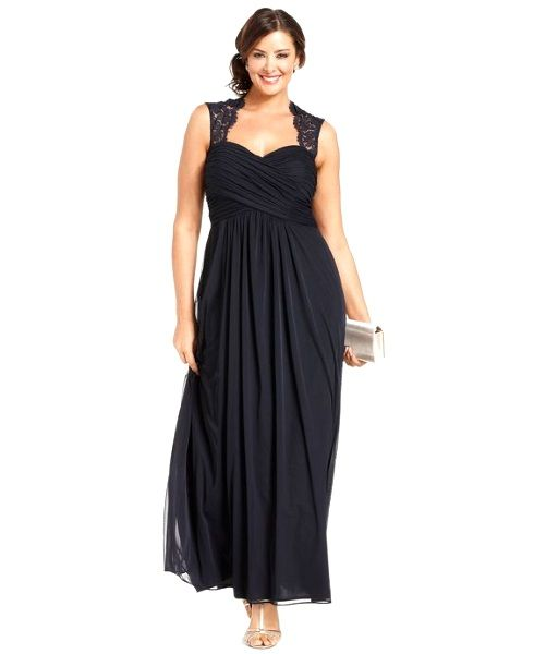 Unique and Stylish Plus Size Gown for Bridesmaid Looking at this photo, who says you're not perfect girl? Who says you're not worth it? Geeez such a pretty fashionista in her own style and size!