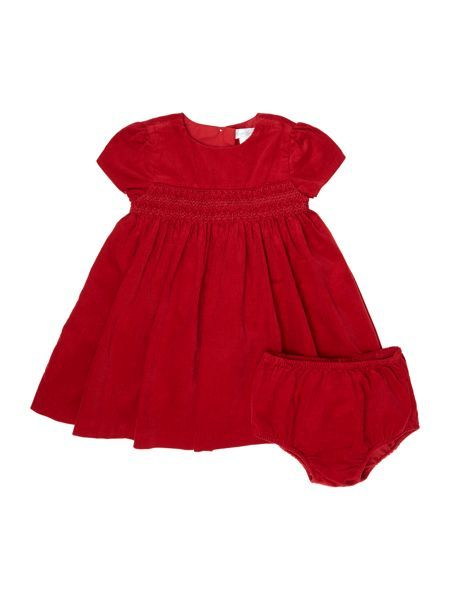 Baby Cord Cap Sleeve Dress with link: https://www.houseoffraser.co.uk/kids-and-baby/polo-ralph-lauren-baby-cord-cap-sleeve-dress/d841525.pd#279453604,q=red-baby-dress and I_279453612_00_20170925.?utmsource=pinterest