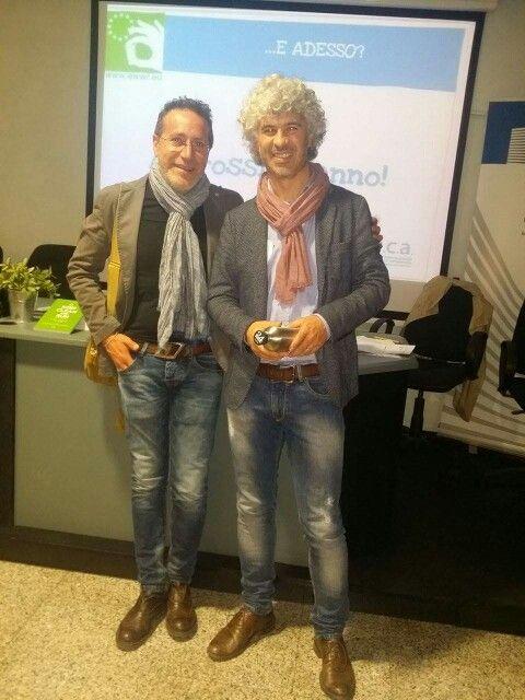 Con il grande Roberto Cavallo