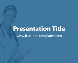 Doctor Template is a blue template with appropriate background image of woman doctor which you can use to make an elegant and professional PPT presentation. This FREE PowerPoint template is perfect for topics that are related to medicine, hospitals etc.