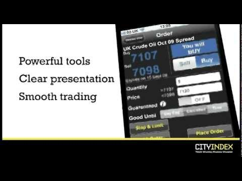 For this award winning Forex trading app search for 'City Trading' in your App Store, and download it. Log in once installed, using your live City Index account.
