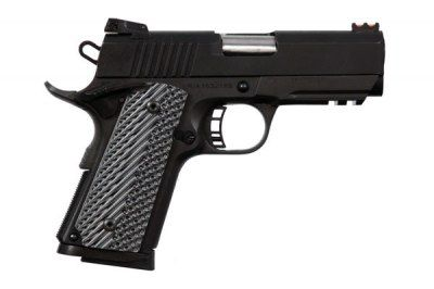 Rock Island Armory 51470 M1911 A1 CS Tactical Pistol .45 ACP 3.5in 7rd Parkerized Rail for sale at Tombstone Tactical.