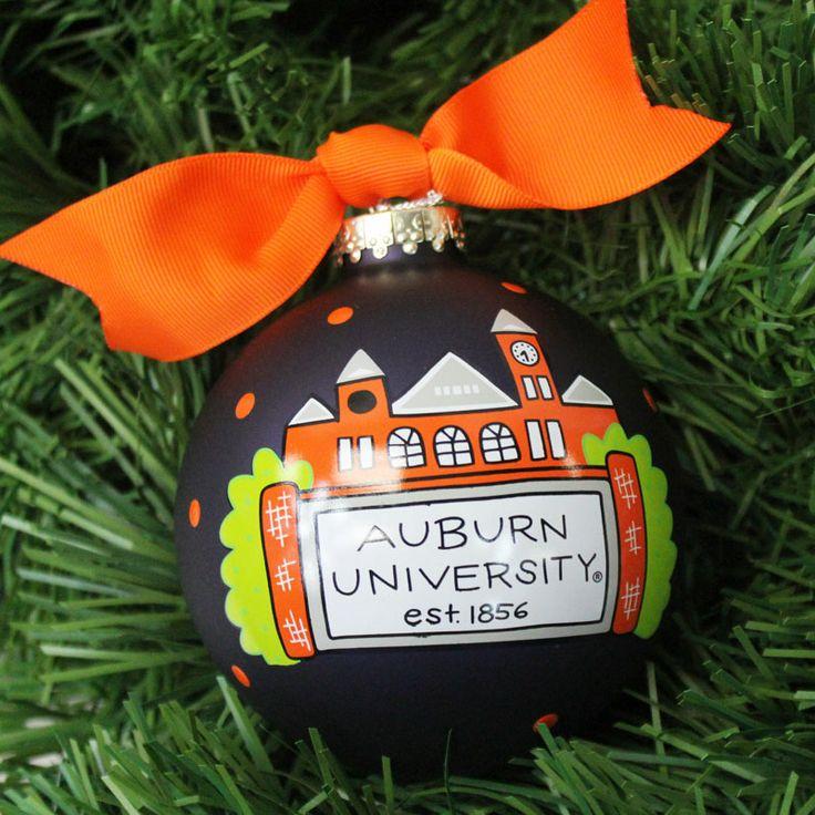 Ornament, Coton Colors Au Samford Tower | Auburn University Bookstore