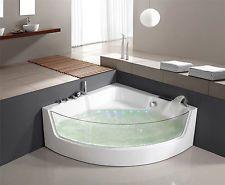 Whirlpool Baignoire Bain à remous d'angle Jacuzzi SPA LXW1531