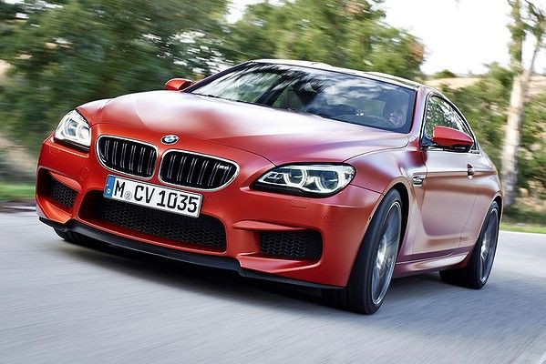 Facelifted BMW 6-series and M6 revealed.
