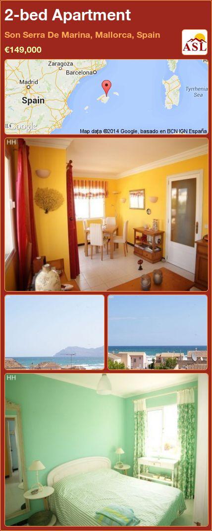 2-bed Apartment in Son Serra De Marina, Mallorca, Spain ►€149,000 #PropertyForSaleInSpain