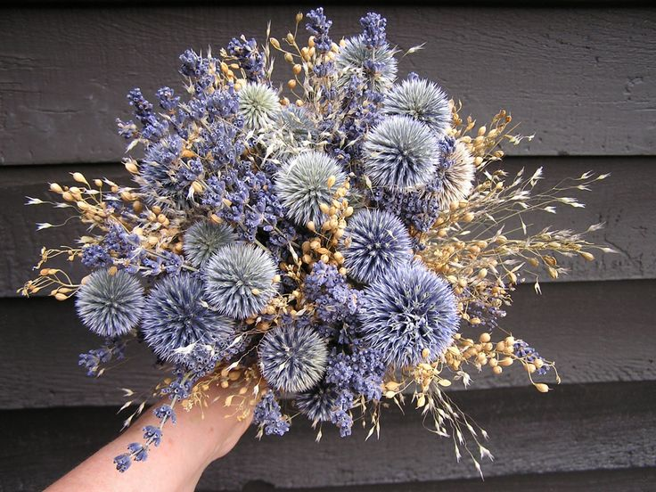 13 best Dried Flower Wedding Bouquets images on Pinterest