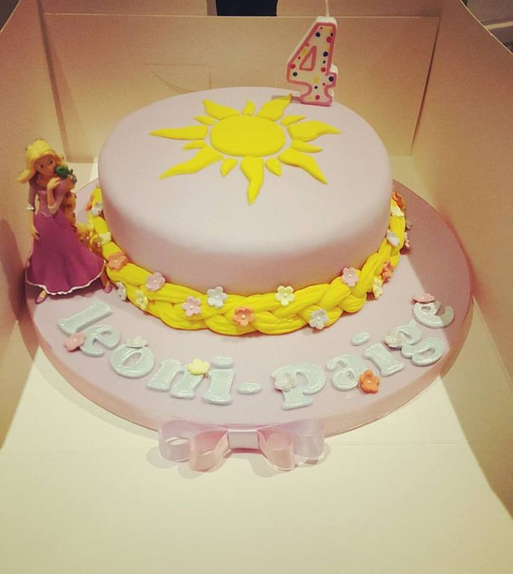 Rapunzel Cake Decorating Kit : 1000+ images about Princess Cake Ideas on Pinterest ...