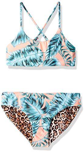 5a5233af6c51 Seafolly Women's Big Girls' Reversible Tankini Swimsuit Set | Women ...