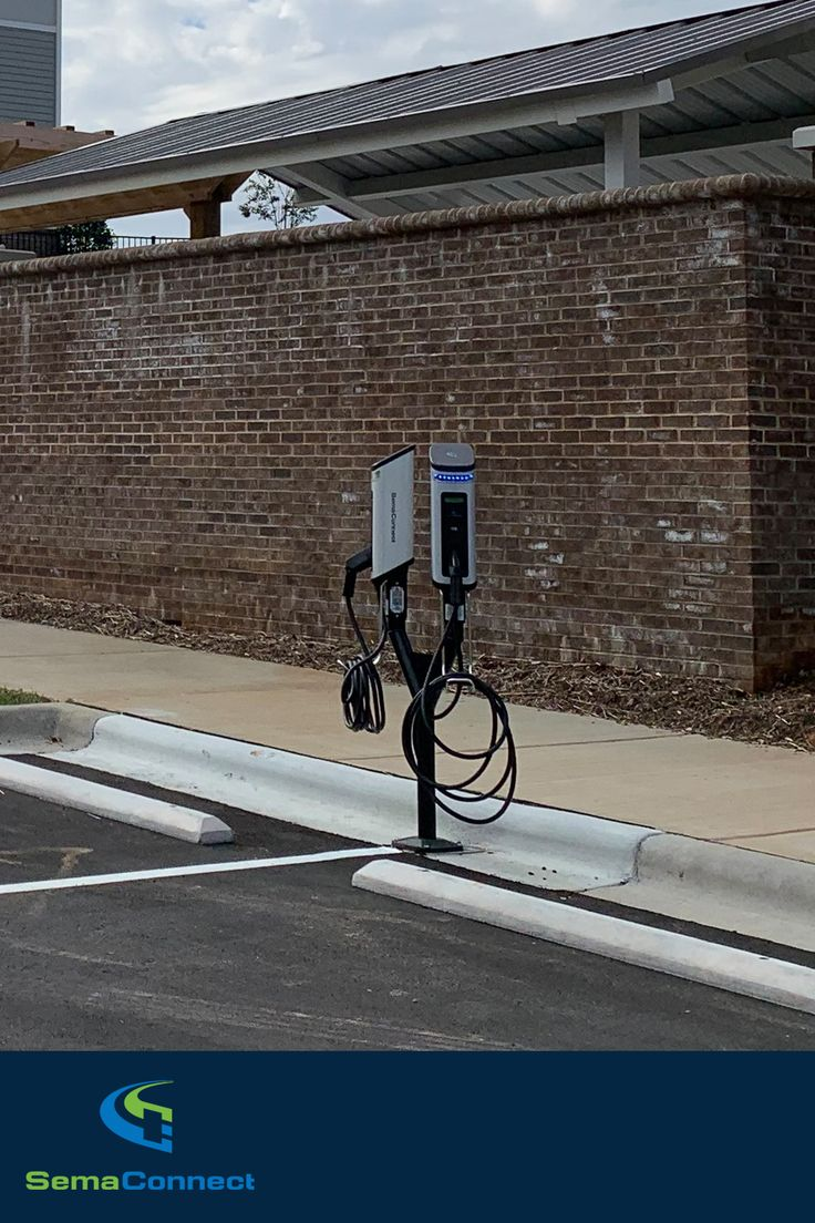 SemaConnect at Riverbend Apartments in 2020 Ev charging