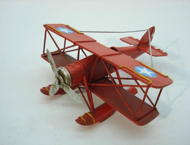Vintage Metal Gifts, Toys, Model Props Planes