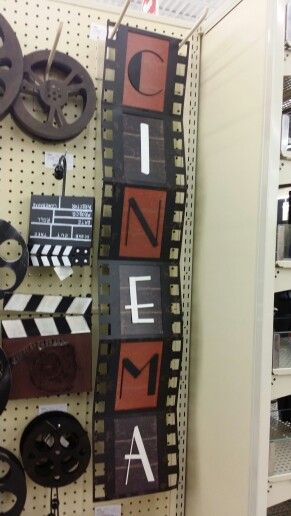 Man Cave Decor Hobby Lobby : Best images about movie room ideas on pinterest