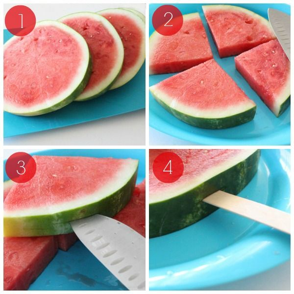 Watermelon on a Stick Directions
