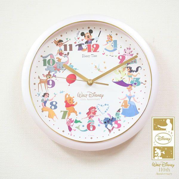 SEIKO/セイコー ディズニータイムクオーツ掛け時計 ウォルト・ディズニー生誕110周年記念限定モデル