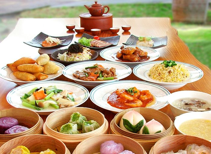 Coco Garden Resort Okinawa All you can eat Cantonese Dim Sum