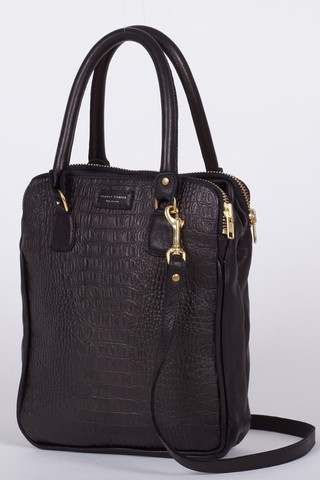 DEADLY PONIES Mr CROC TOTE, BLACK