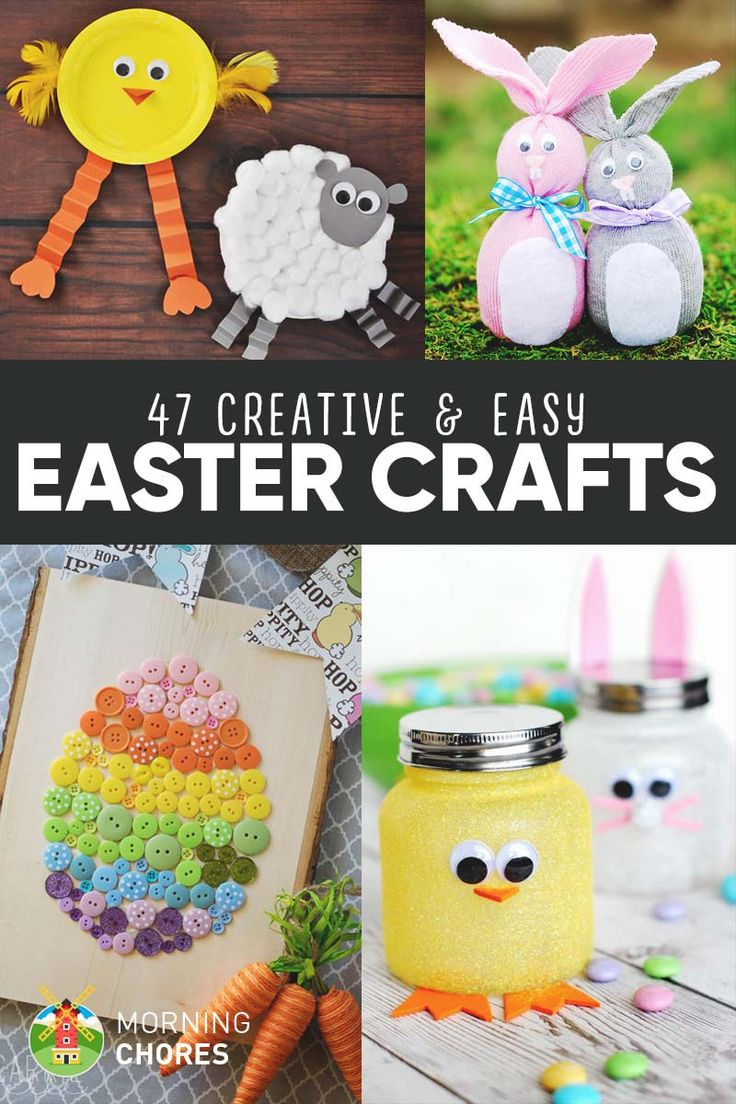25 best ideas about easy easter crafts on pinterest for Diy creative crafts