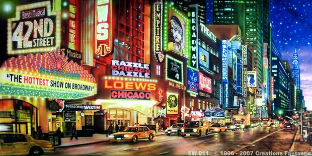 New York Themed Events New York Backdrop For Party Backdrops Fantastic Australia Event Backdrop Animation Background 42nd Street