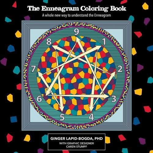 The Enneagram Coloring Book by Ginger Lapid-Bogda #ColorMeEnneagram