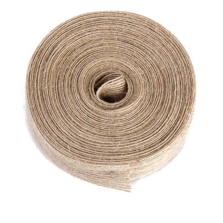 WINOMO 10M Burlap Ribbon Roll (Brown) * Read more reviews of the product by visiting the link on the image.