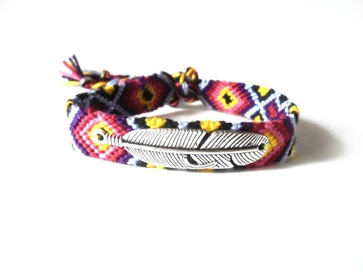 #boho #handmade #friendshipbracelet #friendshipbracelets #friendship #bracelets #bracelet #feather