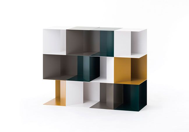 Keisuke Kawase, VOWEL shelf, design, Sweden, Denmark