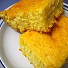 Extra moist cornbread with sour cream. Use 2 boxes of Jiffy Corn Muffin mix instead of 1 1/2 boxes.