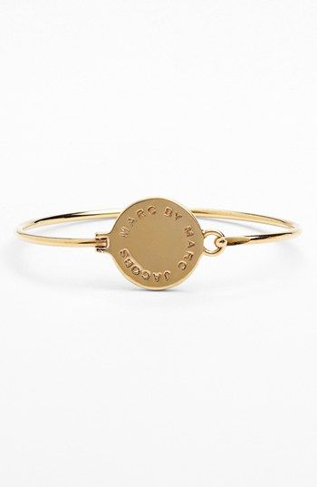 MARC BY MARC JACOBS 'Classic Marc' Disc Skinny Bangle | Nordstrom