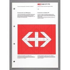 SBB CFF FFS - Visuelles Informationssystem in Bahnhöfen und Stationen - Schrift/Typografie