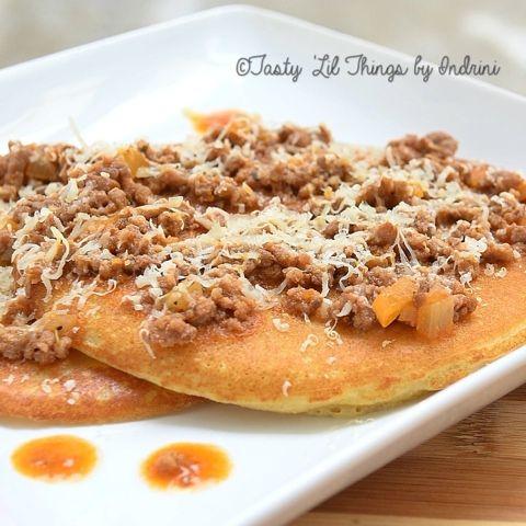 Bolognaise Pancake #homemade #breakfast
