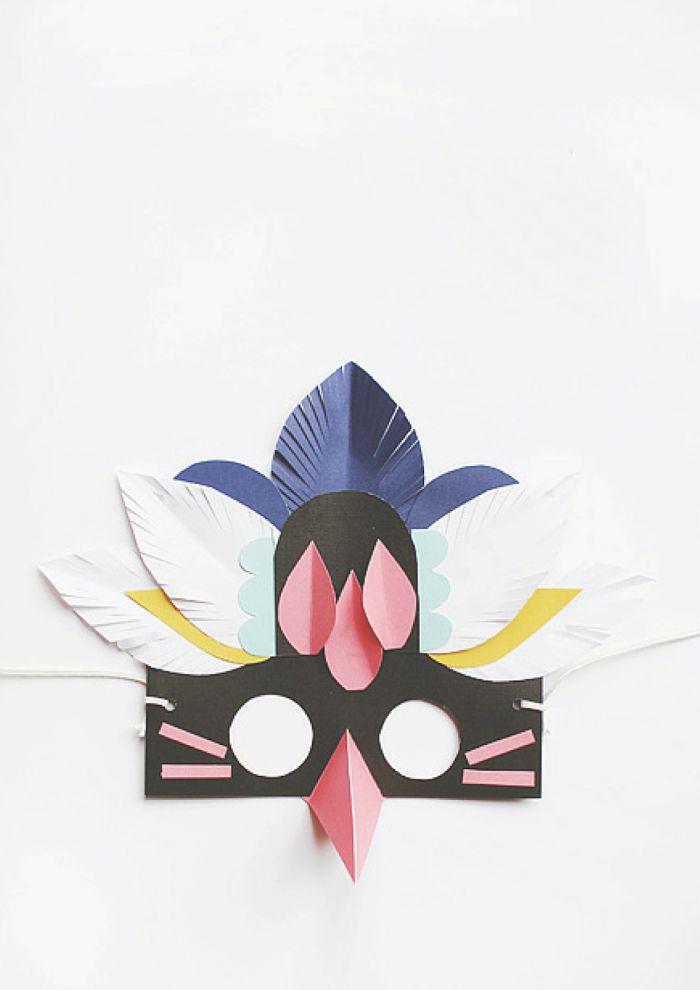 Gör masker i papper