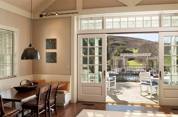22 best bifold exterior doors images on pinterest bifold for French doors with windows either side