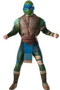 Ninja Turtles Movie 2 Leonardo Adult Mens Costume - 371128 | trendyhalloween.com