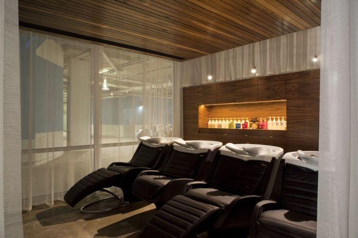 Hair Salon Shampoo Area Interior Design Salon Design Ideas Pinterest