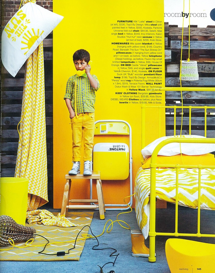 the mae bed in real living magazine