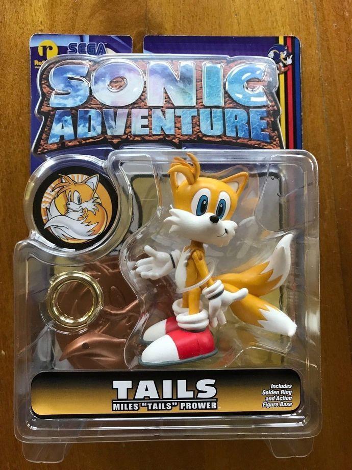 Sonic adventure resaurus Tails figure hedgehog toys series 1