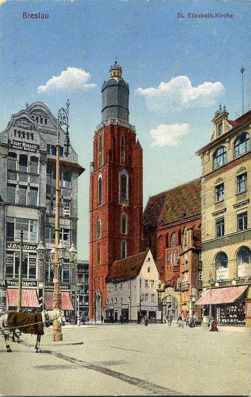 Bazylika św. Elżbiety.1915