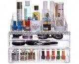 Custom makeup case organizer acrylic makeup organizers cheap acrylic makeup organizer CO-215