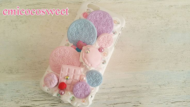 Handmade Oreo Macarons iPhone6 case,iPhone 6s plus,iPhone 6s,Decoden Phone Case 39$ on ebay #Emicocosweet