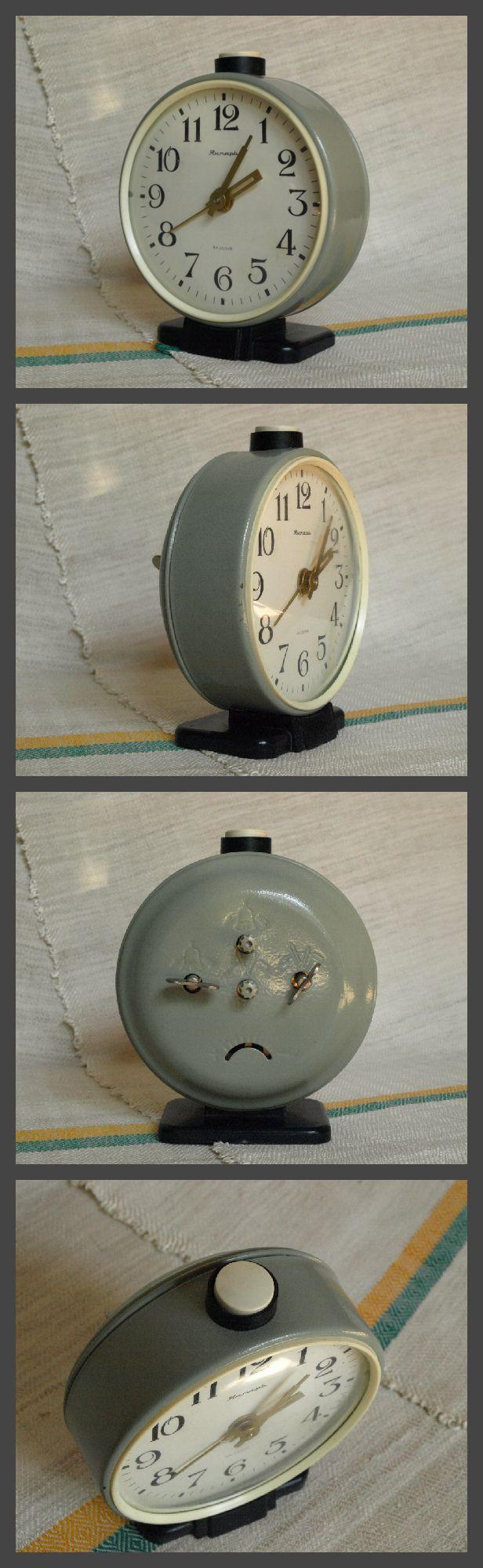 Big industrial style alarm clock