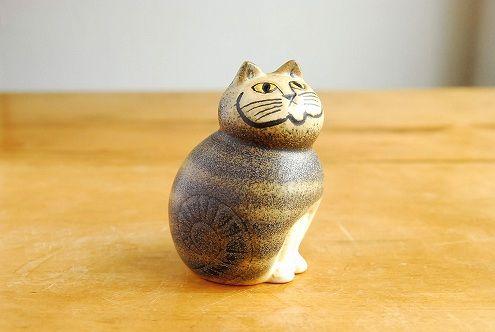 雑貨の小道へようこそ リサ・ラーソンの陶器の動物オブジェ