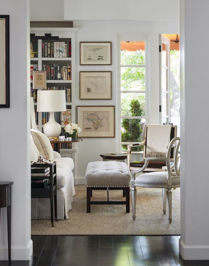 Elements of Style Blog | Neutral vs. Color: The Work of John DeBastiani | http://www.elementsofstyleblog.com fabulous living room in neutral shades