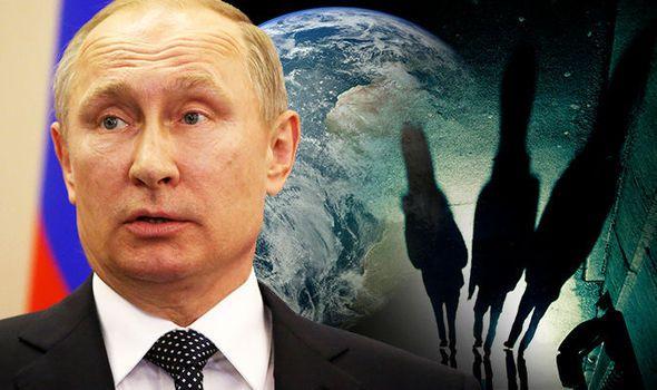 O Presidente russo, Vladimir Putin, poderá ser o homem a fazer a história mundial, anunciando que alienígenas inteligentes existem e têm visitado a Terra.
