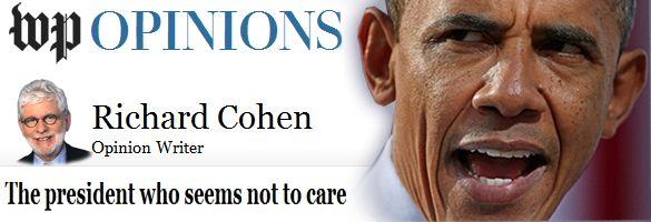 ~~Ultra-Lib Richard Cohen Eviscerates Obama - The Rush Limbaugh Show