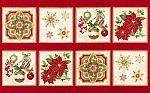 Holiday+Flourish+10,+Fabric+Panel,+Robert+Kaufman+Fabrics