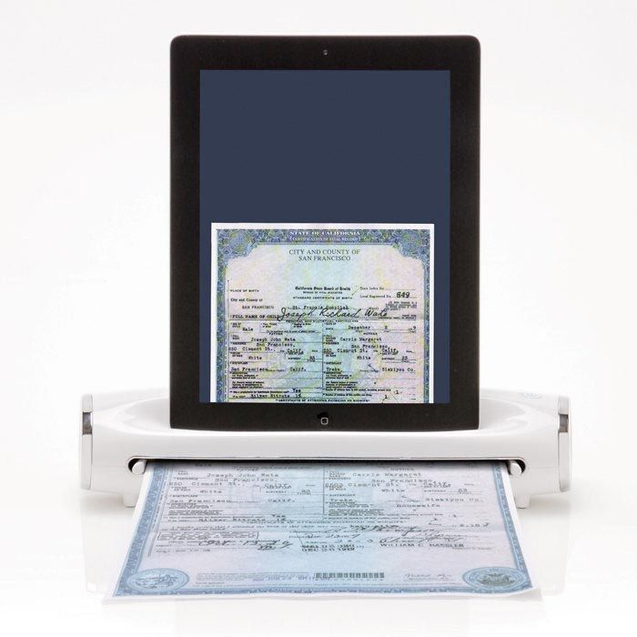 A scanner for your iPad...