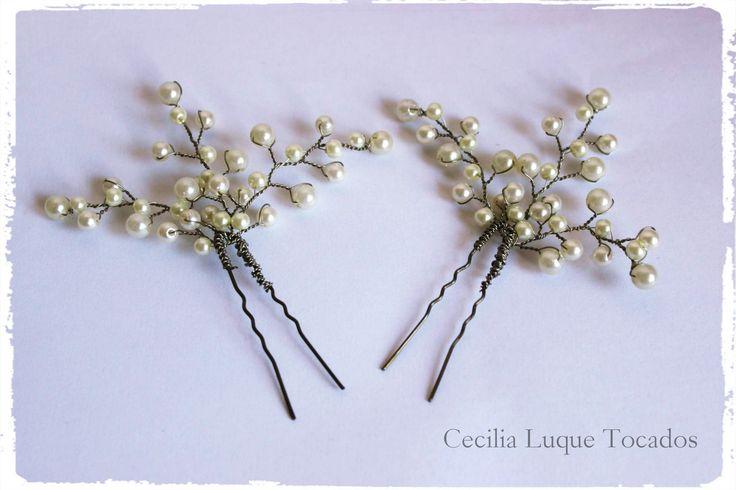 Pinchos de perlas