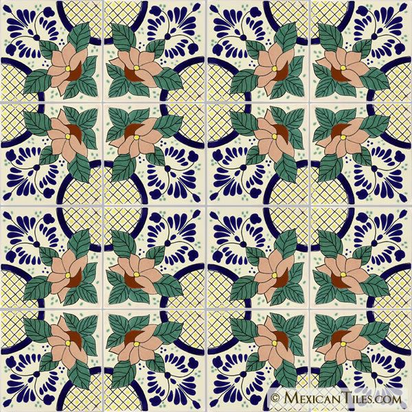 Mexican Tile - Lacandon Mexican Tile