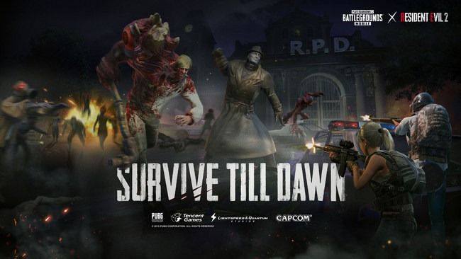 Zombies Survive Till Dawn Mode Brings Resident Evil 2 To Pubg