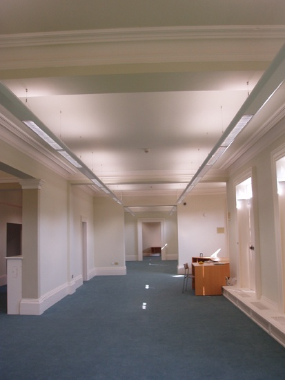 Library Lighting at Brighouse Library, by High Technology Lighting, Leeds